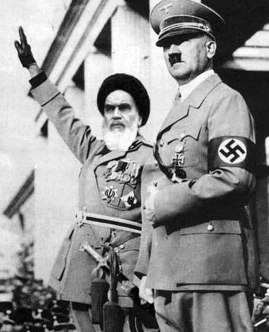 خمینی و هیتلر