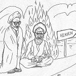 گفتگوی تلخ میان خمینی و آیت الله منتظری در کنار دیوار جهنم