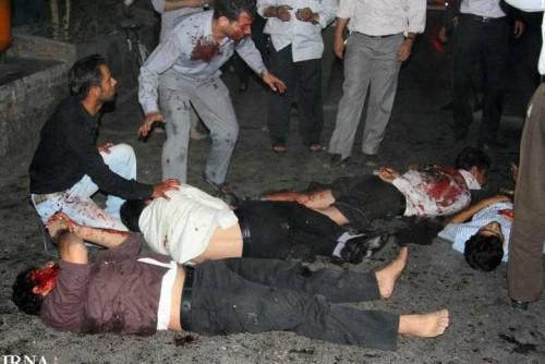 انفجار در مسجد زاهدان