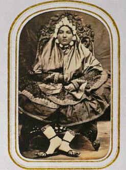 یکی از همسران ناصرالدین شاه (یک شهبانوی مسلمان)