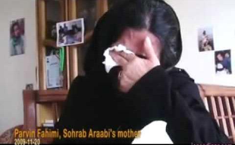 مادر داغدیده سهراب اعرابی