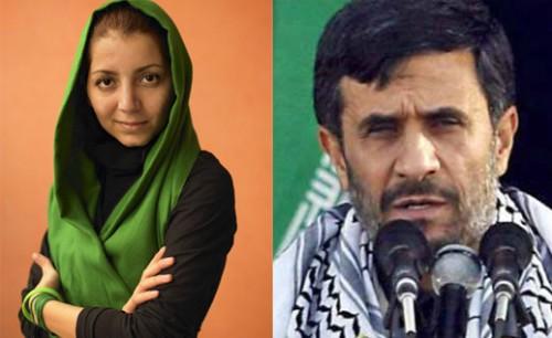 در این تصویر-  پادو ونوکر تازی نژاد، یک نا انسان ضد فرهنگ و مردم ایران، با دختر خانم دلاور، سراپا مهر ، صفا، محبت، میهن پرست و موجب افتخار هر ایرانی