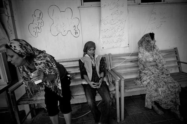 تصویری از مرکز اقامتی زنان معتاد در تهران