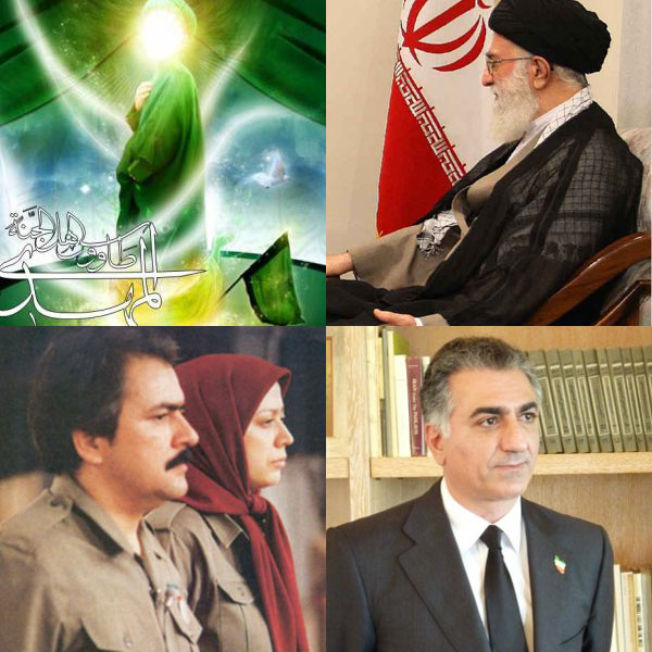 در حال حاضر چهار نفر ادعای رهبری و مالکیت بر ایران دارند. ۷۰ میلیون دیگر قیاس مع الفارقند، و ادعایشان ناوارد و نسنجیده است.