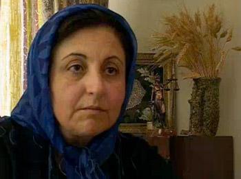 شیرین عبادی، یک زن مسلمان، ونه یک زن ایرانی- آیا در این ۷ سال پس از دریافت جایزه نوبل ایشان توانسته راجع به اسلام مطالعه ای کند و آن چنان بدان وابسته نباشد؟ دینی که مردم به ویژه جوانان ما به خوبی آن را شناخته اند.