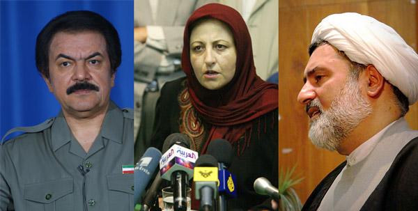 سه تفنگدار جهان اسلام، سه ولایت وقیح آینده بلد اسلامی ایران، و سه فعال سیاسی