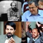 سعید حجاریان، عباس عبدی، اکبر گنجی، و عماالدین باقی چهار تن از بلاگزاران و آتش گردان های معرکه جایگزینی انقلاب اسلامی