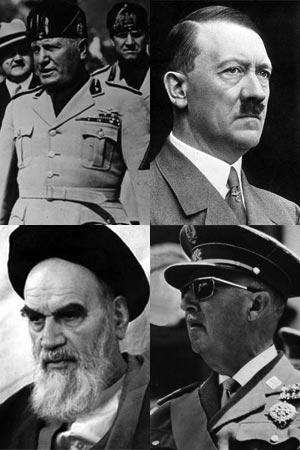 جهان زیبای ما را هزاران دیکتاتور و خودکامه اشغال کرده، یک پلیس، یک معلم، و حتی یک مرد می توانند نسبت به مردم، کودکان، و خانواده خود دیکتاتور باشند. ولی بزرگ دیکتاتورهایی که در صد سال کنون میلیون ها مردم را به خاک و خون کشاندند، عباتند از؛ هیتلر، موسولینی، فرانکو، و خمینی.
