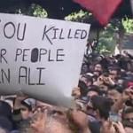 این تظاهرات مردم تونس است که دیکتاتور را از کشور راندند. هدف این نیست که دیکتاتوری فردی را با دیکتاتوری اسلامی که رژیم ایران و عربستان به دنبال آنند، در تونس جا به جا کنند.
