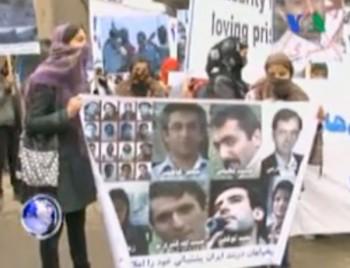 در این فرتور تظاهرات مردم افغانستان در برابر جاسوسخانه ایران در کابل دیده می شود.