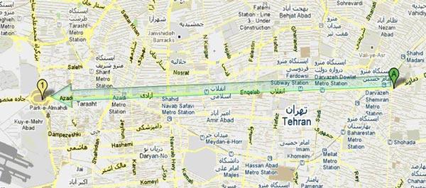 آقای موسوی با تعیین مسیر راهپیمایی در روز ۲۵ بهمن، رژیم را راهنمای و ارشاد کردند تا بتواند نیروهای ضد مردمی خود را در جایگاههای بهتر آماده به سرکوبی کند. باید گفت ناز شست آقای موسوی با این همکاری خالصانه اشان با رژیم.