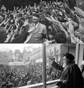 ملت ایران و آلمان هردو به دنبال قدرت و زورگو بوده اند. به گفته دیگر این مردم هردو دنبال آواز خوانند، نه آواز.