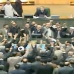 نمایندگان مجلس، بسیجی، پاسدار، نوکران ولی وقیح، و مزدور و خیانتکار به ملت ایران