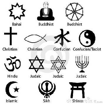 در جهان ادیان و باورهای گوناگون وجود دارد. وظیفه ما است که همه آن ها را بپذیریم، و بدان ها احترام گذاریم. اگر ما برای انسانیت ارزش قایلیم، باید به باورمندان آن ها نیز احترام گذاریم.