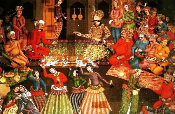 شاه عباس بزرگ، پادشاهی جهانگیر و جهاندار که ایران پرهرج و مرج را یک پارچه کرد، و به شکوفایی و بالندگی رسانید. در جشن شادمانی و بزرگ نوروز باستانی شرکت می کند و پا به پای ملت ایران، آیین های ایرانی را گرامی می دارد.