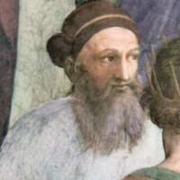 رافائل چهره پرداز برجسته ایتالیا در سال ۱۵۰۹ میلادی، در واتیکان این فرتور را از زرتشت بزرگ به تصویر در می آورد.