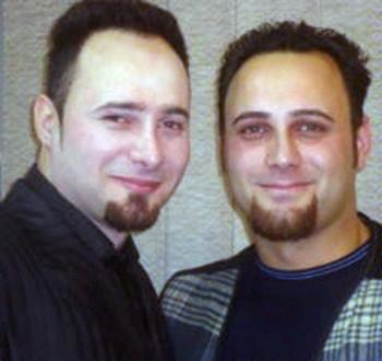 محمد و عبدالله فتحی، دو جوان مبرز سیاسی که به دست دژخیمان عزرائیل ایران، ولی وقیح اعدام شدند.