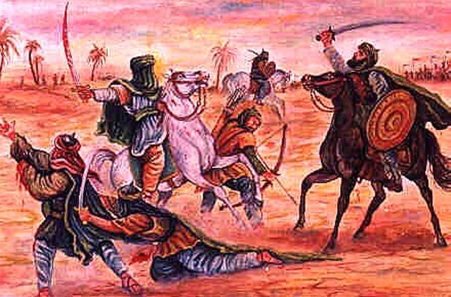 این اسلامی است که ۱۴۰۰ سال پیش وارد ایران شد. منطق و بحث و گفتگویی در کار نبود، بلکه هرچه بود، خون و شمشیر، و تسلیم پذیری در برابر اسلام بوده است. به عنوان نمونه، «سلام»، در اسلام به معنای تسلیم شدن، و نوکرپذیری، در برابر دکان داران دین است. این روش و عملکردی است که از ۳۲ سال پیش تاکون رژیم اسلامی در ایران پیاده کرده است.