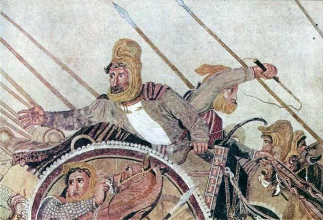 داریوش سوم - پادشاه بزرگ هخامنشی با همه توان و قدرت خود در برابر اسکندر جهانخوار ایستادگی کرد و جان خود را در راه میهن فداکرد. ایکاش در زمان ما هم به جای امت خردباخته و تحمیر شده، و یا زمامداران سودجوی و غارتگر چند تنی از این ابر انسان ها داشتیم تا مردم کشورمان این چنین خاکستر نشین نباشند.