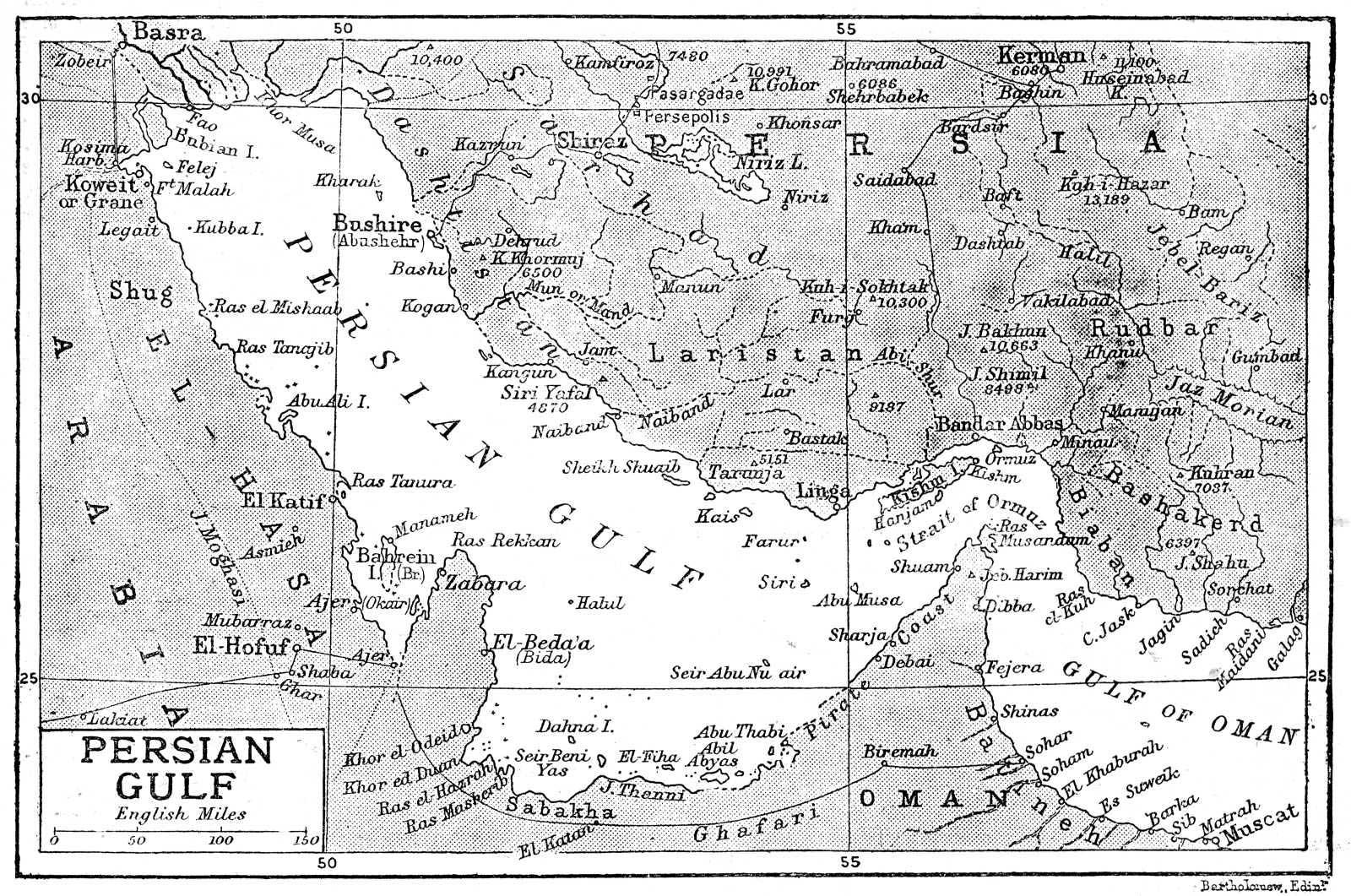 این نقشه کشور عزیزمان ایران، و خلیج ابدی فارس است. به کوری چشم تازیان و تازی صفتان، نام زیبای خلیج فارس، برای همیشه بر این آب های پهناور باقی خواهد ماند.
