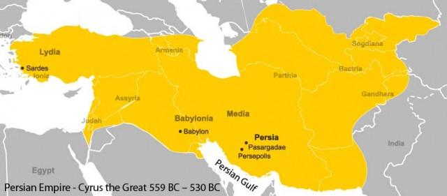این سرزمین بزرگ ایران در دوران شاهنشاهی کوروش است. از آن هنه افتخار و بزرگی برای ایرانیان چه چیز به جای مانده است؟. تنها خرافات، کینه توزی، بد اندیشی، و یک مشت تازی نژاد جنایتکار.