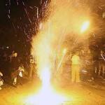 ایرانیان با برگزاری با شکوه چهارشنبه سوری، مکارم شیرازی را عزادار کردند