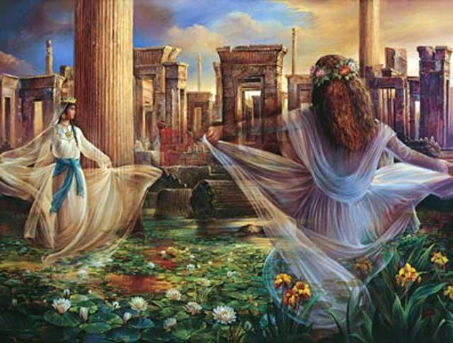 """زنان در ایران باستان دارای جایگاه والا و حقوق اجتماعی برابر با مردان بودند و همواره مورد ستایش و احترام جامعه قرار می گرفتند. مردان، زنان را چون زمین گرانبها و سبز و زاینده می دانستند و همواره با ایشان با مهر و محبت برخورد می کردند، حال به راستی آن همه اخلاق نیکو به کجا رفته که میهن پر از پلیدی و پلشتی است؟ ارزش و مقام والای زنان در جامعه ایرانی به حدی زیر و رو گشته و نابود شده که روز تولد فاطمه زهرا، که خود به دلیل زن ستیزی اسلام از میان رفت را """"روز زن و مادر"""" می خوانند. آیا این امر مایه خجالت نیست؟"""