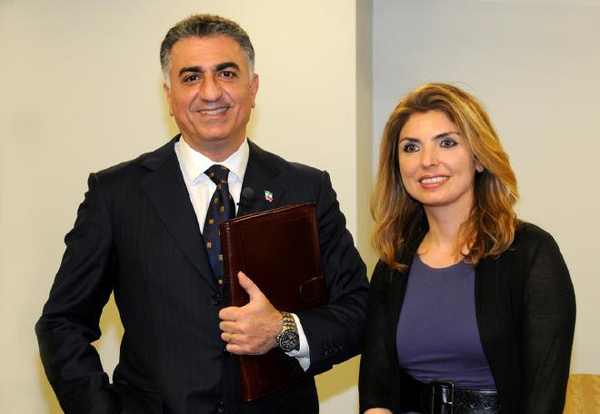 Reza_Pahlavi__His_Wife