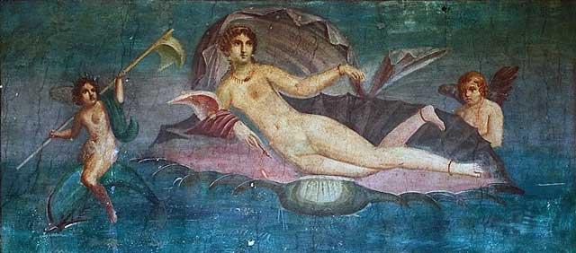 آفرودیت یونان، و یا ونوس رومان، خدای دوستی، محبت، دلبستگی و عشق است. آنان که به دنبال دلدار و معشوق خود بودند و بدان دسترسی نداشتند به این خدای ناشناخته پناه می بردند.