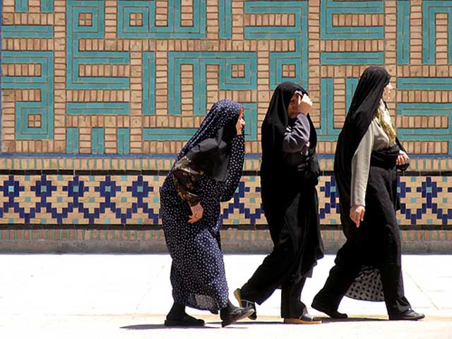 iranian-women-visit-a-mosque-in-iran