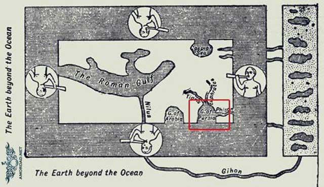 این نقشه مربوط به دوره ۵۳۵- ۵۴۷ پیش از زایش مسیح است که در کتابخانه رم و لورنتیانا در فلورانس ایتالیا نگهداری می شود.