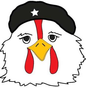 مرغان غیور کشورمان با اعتصاب منفی و نبودن بر سر سفره ها (بیرون از صحنه)، مانند چگووارا دست به انقلابی بزرگ زدند.