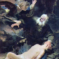 angel-sent-from-god-stops-abraham-killing-his-son-isaac-ismael