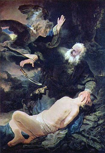 angel-sent-from-god-stops-abraham-killing-his-son-isaac-ismael