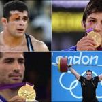 سخنی از قهرمانان دلاور مان، و نگاهی به ورزشکاران غیر بومی کشورهای دیگر