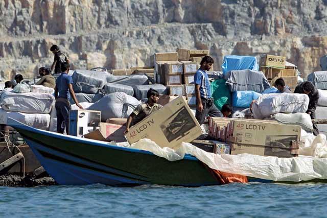smuggling-into-iran-sactions