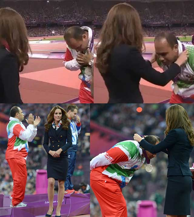 Iranian-Paralympic-athlete-Mehrdad-Karam-Zadeh-refuses-to-shake-Duchess-of-Cambridge-hand-kate-iran-olympics
