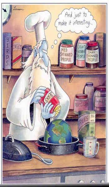 به راستی که در حالِ حاضر و با وجود پیشرفت خارق العاده علم و وجود دانشمندانِ کم نظیری همچون ریچارد داوکینز و... که با منطق و دانش و اخلاق، به نقدِ ادیان و خدایِ موهوم مذاهب می پردازند، باور داشتن به وجود موجودِ نامرئی به نام خدا که تمامی دنیا را خلق کرده، بسیار به دور از خرد و منطق است.