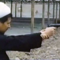 hashemi-rafsanjani-young-shooting-pistol-iran
