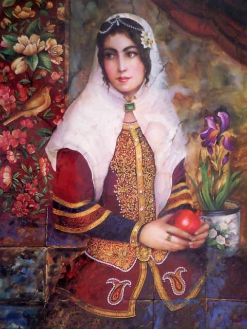نقاشی جشن تولد امام رضا