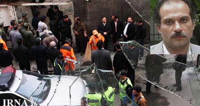 بمب گذاری که موجب کشته شدن مسعود علیمحمدی دانشمند فیزیک ایران شد. بی تردید این هم یکی از جنایات خود رژیم است  یکی از دهها راهی که مخالفین خود را از میان بر می دارد، ولی کشورهای دیگر را متهم می کند.