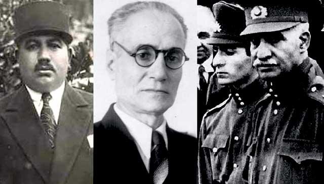 در این فرتور، فرخی یزدی و کسروی دو تن از قربانیان حکومت پهلوی را نشان می دهد.