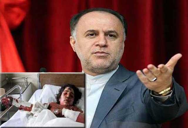 وزیر بی کفایت آموزش و پرورش، کلاهبرداری دیگر از صدها کلاهبردار دیگر رژیم. مجلس آخوندی ظاهراً این بابا را استیضاح می کند، و بعد خامنه ای روی آن سرپوش می گذارد.