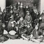 این ها زنان دربار ناصرالدین شاه هستند. آیا زن در تاریخ اسلامی ایران ارزشی داشته است؟.
