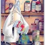 با پیشرفت هر چه بیشتر علم و گسترده شدن دانش ما انسان های زمینی نسبت به چگونگی پیدایش کهکشان ها و سیاره ها و حتی احتمال امکان حیات در کرات دیگر، به راستی که فرضیه آفرینش جهان هستی در شش روز توسط خدای ادیان بسیار مضحک به نظر می رسد.