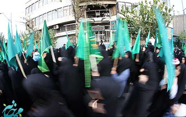 در اسلام شهادت زن نیمی از مرد است. در موارد دیگر که زن ارزشی ندارد و به حساب نمی آید زنان در رژیم اسلامی در کارهای اجتماعی، فرهنگی، و سیاسی رل و نقشی ندارند. کار برجسته آنان عزاداری برای تازی گور به گور شده و رونق دادن به دکانداری آخوند است.