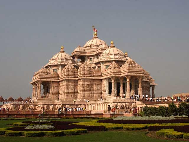 پرستشگاه اسوامینایاران آکشاردهام در دهلی بزرگترین معبد هندو در جهان