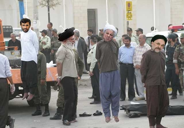 انتقام ملی نزدیک است. به زودی جوانان ایران به پا می خیزند و خون آشامان و خیانت کاران را به سزای خود می رسانند.