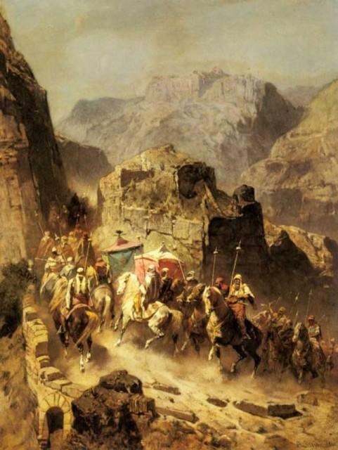 نقاشی جشن میلاد پیامبر