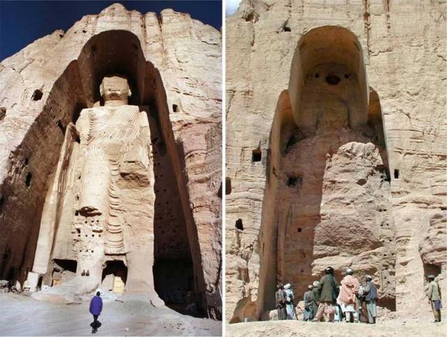 شکستن و ویرانی کردن تندیس باشکوه بودا در بامیان افغانستنان توهین بزرگی به همه بوداییان جهان است.